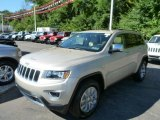 2014 Cashmere Pearl Jeep Grand Cherokee Limited 4x4 #85466213