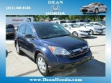 2008 Royal Blue Pearl Honda CR-V EX 4WD #85466281