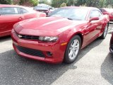 2014 Crystal Red Tintcoat Chevrolet Camaro LT Coupe #85466010