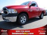 2014 Flame Red Ram 1500 Tradesman Regular Cab #85488385