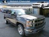 2014 Tungsten Metallic Chevrolet Silverado 1500 LT Crew Cab 4x4 #85488456