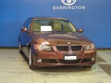 2007 Barrique Red Metallic BMW 3 Series 328xi Sedan #85488320