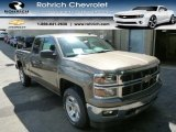 2014 Brownstone Metallic Chevrolet Silverado 1500 LT Double Cab 4x4 #85488455