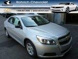 2013 Silver Ice Metallic Chevrolet Malibu LS #85488452