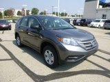 2014 Polished Metal Metallic Honda CR-V LX AWD #85499371
