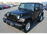 2012 Black Forest Green Pearl Jeep Wrangler Sport 4x4 #85499360