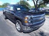 2014 Tungsten Metallic Chevrolet Silverado 1500 LT Crew Cab #85499695