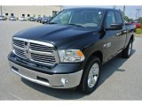 2014 Black Ram 1500 Big Horn Quad Cab 4x4 #85499358