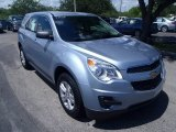 2014 Silver Topaz Metallic Chevrolet Equinox LS #85499693
