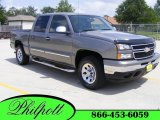 2007 Graystone Metallic Chevrolet Silverado 1500 Classic LS Crew Cab 4x4 #8539039