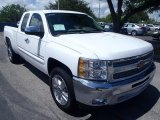 2013 Summit White Chevrolet Silverado 1500 LT Extended Cab #85499691