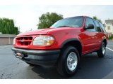 1997 Bright Red Ford Explorer Sport 4x4 #85498831