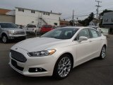2013 White Platinum Metallic Tri-coat Ford Fusion Titanium #85499511