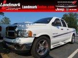 2004 Bright White Dodge Ram 1500 SLT Quad Cab #85498813