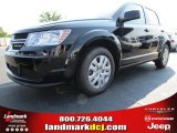 2014 Pitch Black Dodge Journey Amercian Value Package #85498808