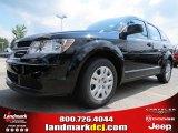 2014 Pitch Black Dodge Journey Amercian Value Package #85498807