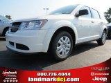 2014 White Dodge Journey Amercian Value Package #85498806