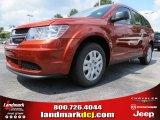 2014 Copper Pearl Dodge Journey Amercian Value Package #85498805