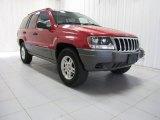 2002 Inferno Red Tinted Pearlcoat Jeep Grand Cherokee Laredo 4x4 #85499175