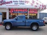 2004 Atlantic Blue Pearl Dodge Dakota Sport Regular Cab 4x4 #8539996