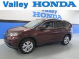 2012 Basque Red Pearl II Honda CR-V EX-L 4WD #85498478