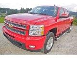 2013 Victory Red Chevrolet Silverado 1500 LTZ Crew Cab 4x4 #85499314