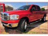 2007 Sunburst Orange Pearl Dodge Ram 1500 Big Horn Edition Quad Cab 4x4 #8538501
