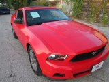 2011 Race Red Ford Mustang V6 Premium Coupe #85498609