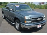 2006 Blue Granite Metallic Chevrolet Silverado 1500 LT Crew Cab #85499308