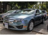 2011 Steel Blue Metallic Ford Fusion SE V6 #85499150
