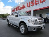 2011 Sterling Grey Metallic Ford F150 Lariat SuperCrew #85498601