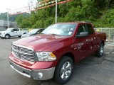 2014 Deep Cherry Red Crystal Pearl Ram 1500 Big Horn Quad Cab 4x4 #85499146