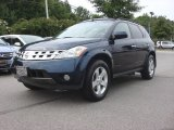 Midnight Blue Pearl Nissan Murano in 2004