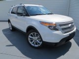 2014 White Platinum Ford Explorer XLT #85498981