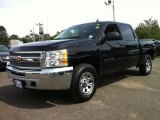 2013 Black Chevrolet Silverado 1500 LT Crew Cab 4x4 #85498748