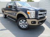 2014 Blue Jeans Metallic Ford F250 Super Duty King Ranch Crew Cab 4x4 #85498979
