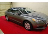 2013 Sterling Gray Metallic Ford Fusion S #85498732