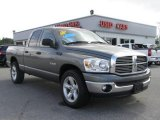 2008 Mineral Gray Metallic Dodge Ram 1500 Lone Star Edition Quad Cab #8537154