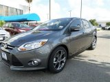 2014 Sterling Gray Ford Focus SE Sedan #85498572