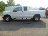 2004 Oxford White Ford F250 Super Duty XLT SuperCab #85499584