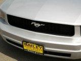 2005 Satin Silver Metallic Ford Mustang V6 Premium Convertible #8531944
