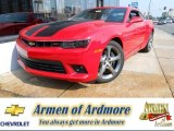 2014 Red Hot Chevrolet Camaro SS/RS Coupe #85498957