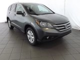 2014 Polished Metal Metallic Honda CR-V EX AWD #85498431