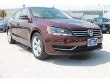 2014 Opera Red Metallic Volkswagen Passat 2.5L SE #85499447