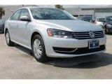 2014 Reflex Silver Metallic Volkswagen Passat 2.5L S #85499445