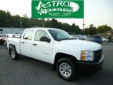 2011 Summit White Chevrolet Silverado 1500 Crew Cab 4x4 #85499437