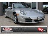 2007 Arctic Silver Metallic Porsche 911 Carrera Coupe #85499080