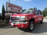 2007 Fire Red GMC Sierra 2500HD Classic SLT Crew Cab 4x4 #85499231