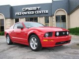 2007 Torch Red Ford Mustang GT Premium Coupe #8542629