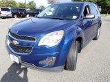 2010 Navy Blue Metallic Chevrolet Equinox LS #85498402